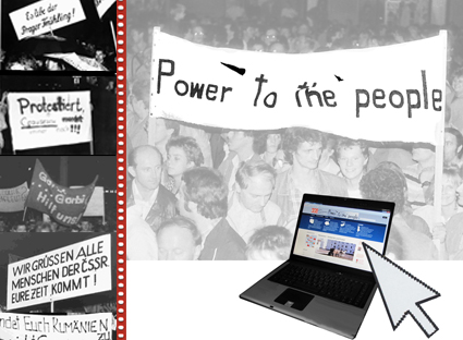Internetgrafik Power to the people