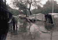 Hungerstreik vor der Botschaft der ČSSR, 23.08.1989